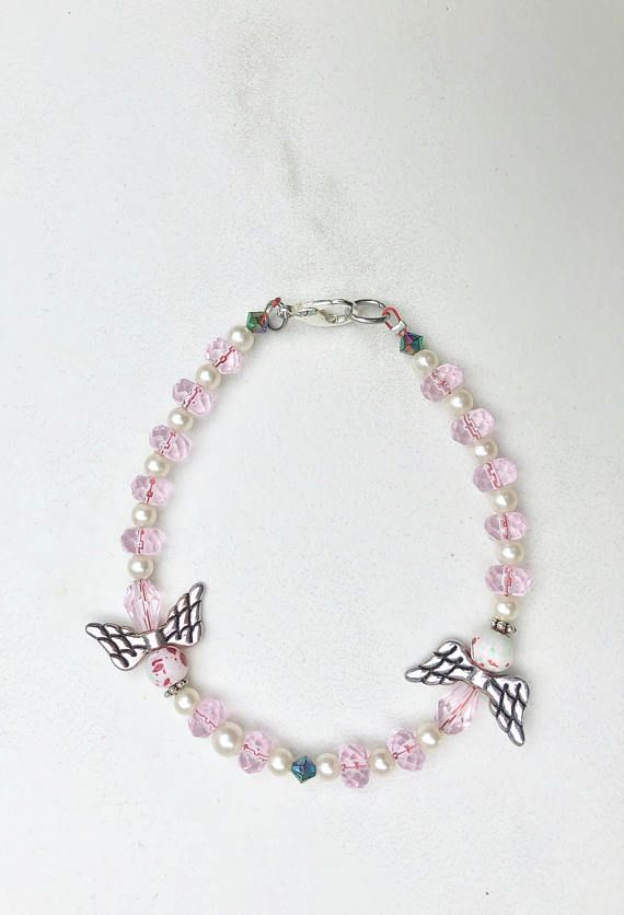 Baby Girl Loss Girl Loss Infant Loss Miscarriage Beaded Pink And