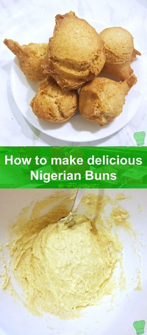 Nigerian buns are typical Nigerian street food.  If you're craving homemade Nigerian buns, this is the recipe for you! So easy, so delicious, so filling!