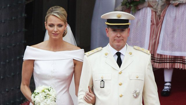Princess Charlene and Prince Albert II of Monaco