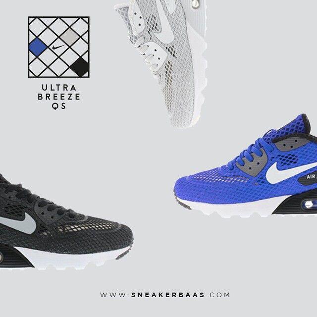 #nike #nikeam90 #nikeultrabreeze #airmax #nikeair #sneakerbaas #baasbovenbaas  Nike Air Max 90 Ultra Breeze QS pack - Shop now!