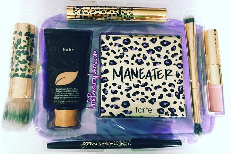 """Laura (@lifebeautylens) on Instagram: """"My first @tartecosmetics has arrived from @qvc today! #lifebeautylens Very excited to try it all!"""" #crueltyfree #beauty"""