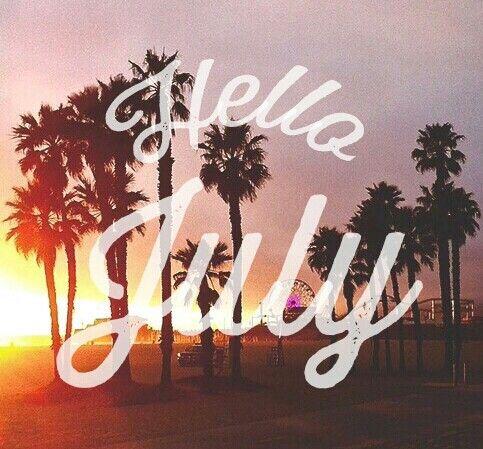 ¡Bienvenido! Porque así queremos pasar todo el mes disfrutando de la playa. #HelloJuly