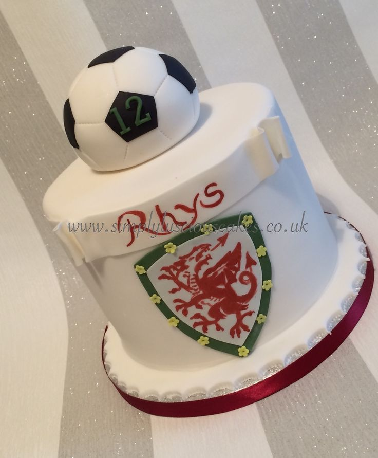 Welsh football cake