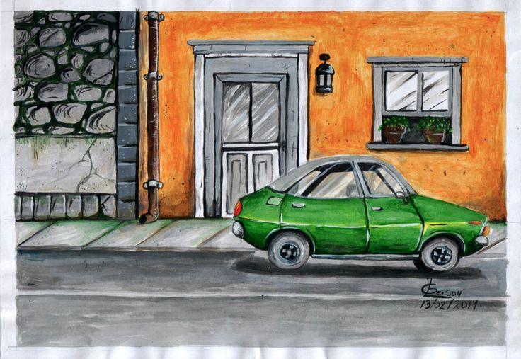 Pintura feita com tinta acrílica. http://gleison77.deviantart.com/art/Desenho-feita-com-Tinta-Acrilica-459856512