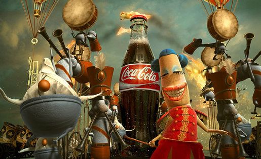 Coke comes from Happiness Factory | The Inspiration Room