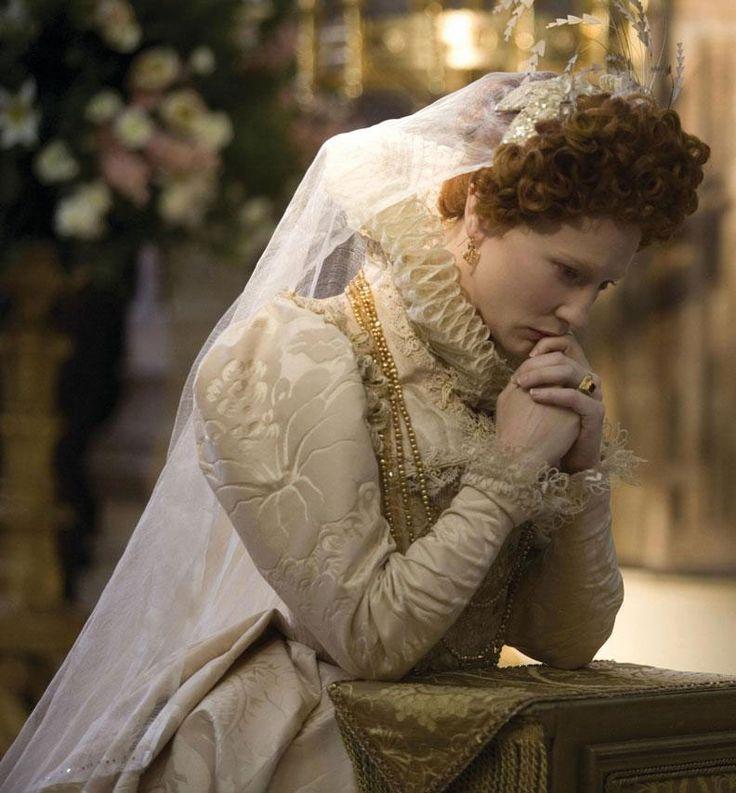 Cate Blanchett as Queen Elizabeth I,  Elizabeth: The Golden Age