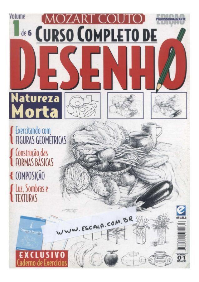 Curso De Como Desenhar Online Completo Desenhos Natureza Ideias