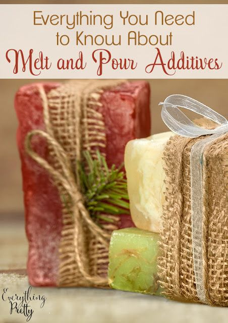 Your Guide to Melt and Pour Additives via www.yourbeautyblog.com