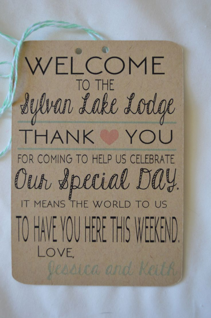 Welcome Gift Basket Tags - Set of 10 by HeathersPartySpot on Etsy https://www.etsy.com/listing/292321455/welcome-gift-basket-tags-set-of-10