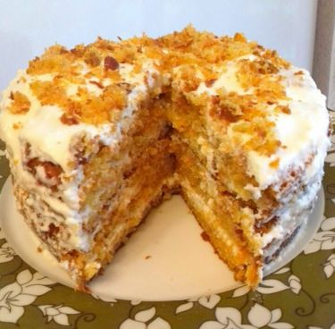 Морковный торт. Ну очень вкусный