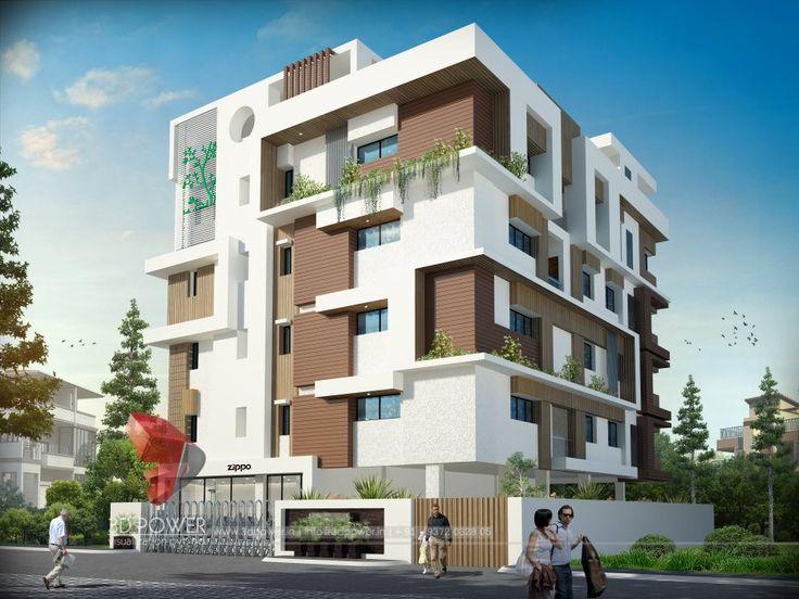 3d architectural building model