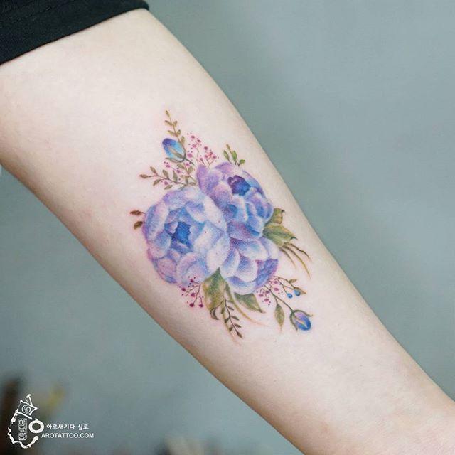 25 best ideas about violet flower tattoos on pinterest for Birthday tattoo ideas