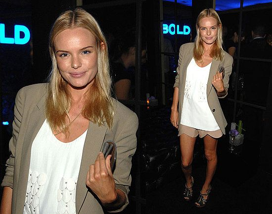 Kate Bosworth: Celebrity Style, Scallops Shorts, Fashion Style, Beige Blazers, Effortless Style, Style Icons, Celebs Style, Bosworthchlo Totally, Kate Bosworthchlo