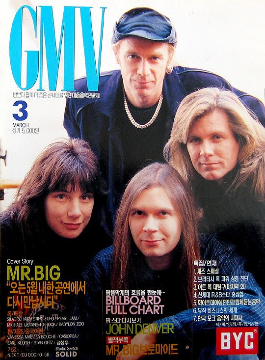 The cover of GMV, 1996.