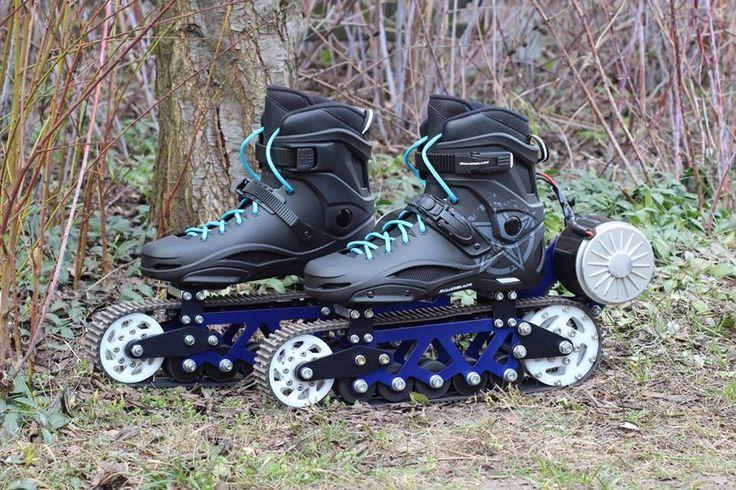 MasQmoviles Los patines eléctricos todo terreno de Jack Skpinski son una interesante opción para desplazamiento y diversión