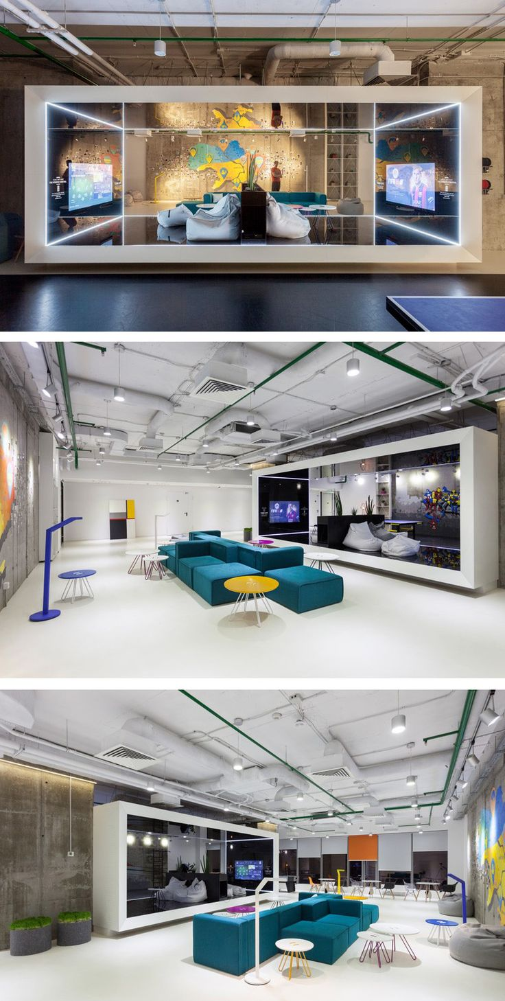 Soesthetic Group Have Designed The Ukrainian Offices For Playtech A Online Gaming Software Company