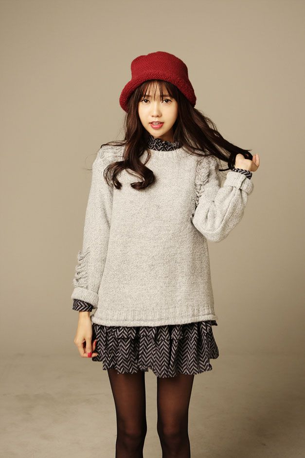 Weave Knit Top