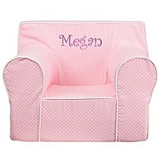 image of Flash Furniture Large Kids Chair in Pink/White