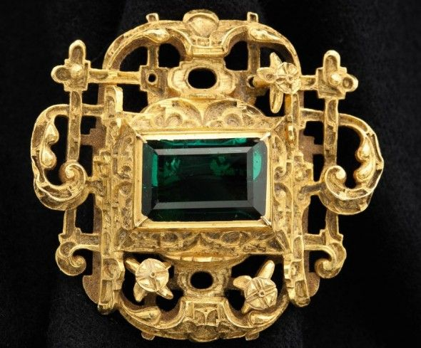 The Emerald Jewel Of Lost Atocha Treasure Discovered In A Spanish Shipwreck Estimate