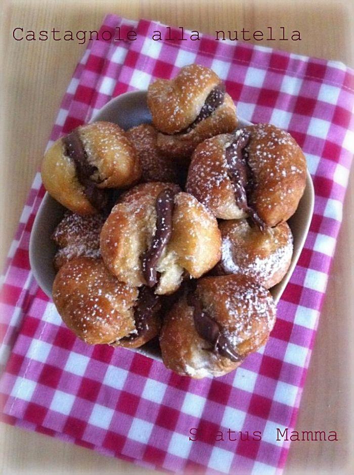 Castagnole alla nutella ricetta di carnevale dolce