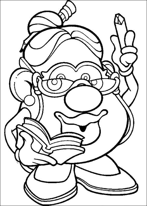potato head coloring pages 6