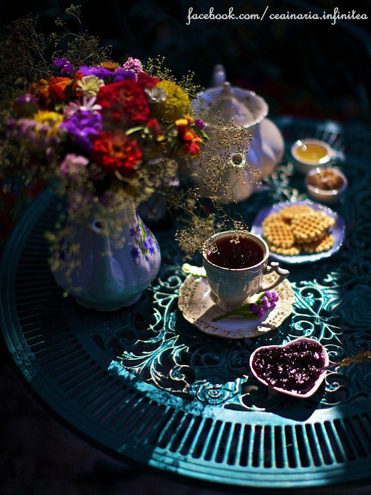 Infinitea, a pretty tea house, perfect for a bohemian getaway.