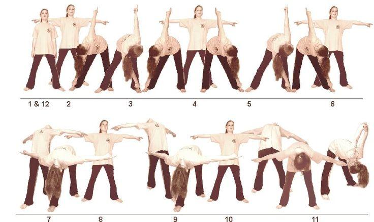 17. Mukana Asanam (Triangle Pose)