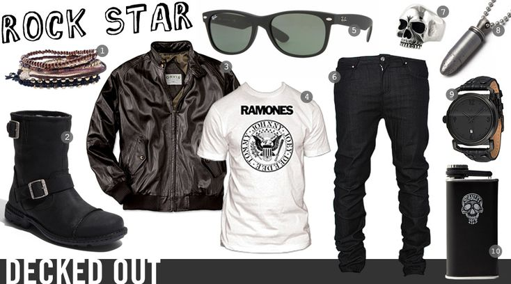 Decked Out: Rock Star | Cool Material