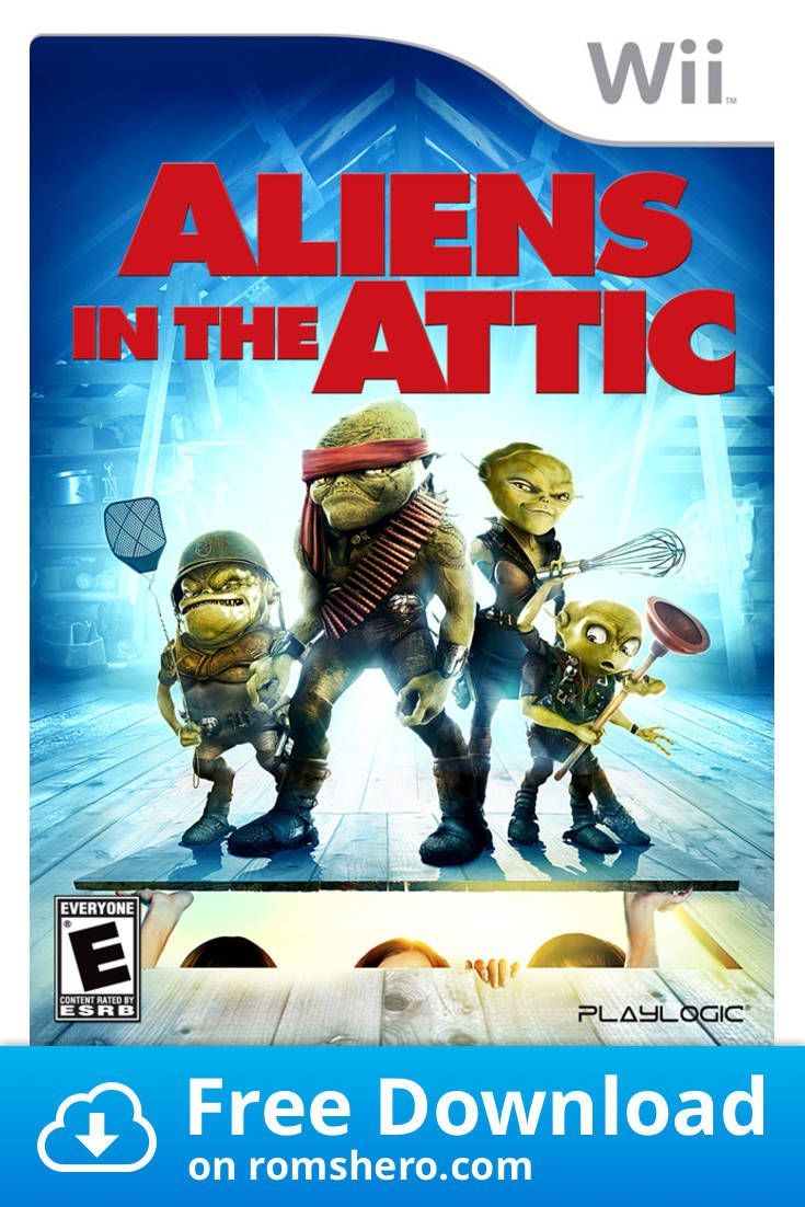 Download Aliens In The Attic Nintendo Wii Wii Isos Rom Wii Games Wii Alien