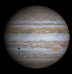 Détail de la planète Jupiter