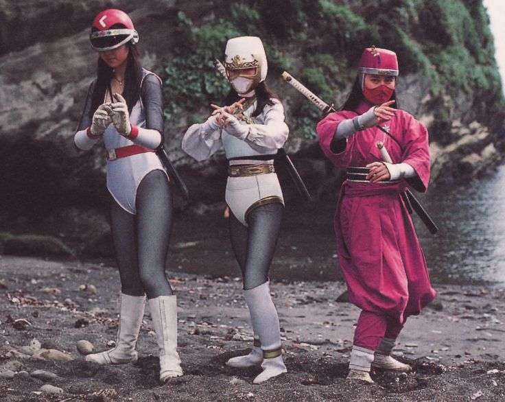 Princess Ninja Emiha , Reiha and Hananin Yumeha