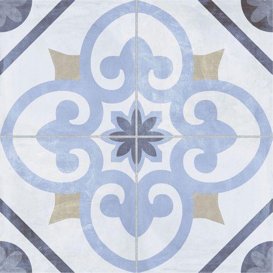 AGADIR Azul 45X45, Cerámica.