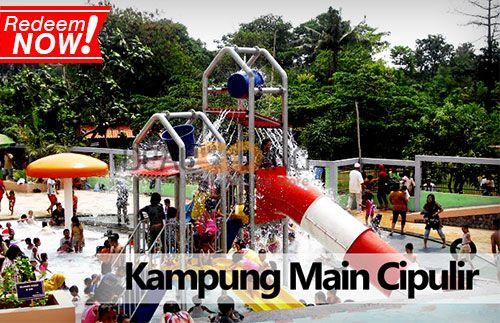 Saatnya berlibur di akhir pekan bersama keluarga di Kampung Main Cipulir. Tersedia berbagai pilihan permainan outbond yang seru, hanya Rp29.000 #panoramagroup
