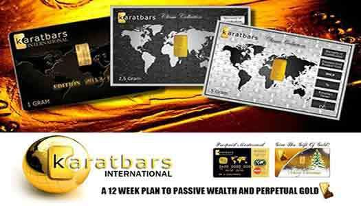 Karatbars Goldbars Interesting Facts I Bet You Never Knew. Karatbars goldbars step-by-step road map for riches! Rather than purchasing gold itself, traders can purchase the businesses that leave the gold as shares in gold mining companies. When the gold costs increase, the earnings from the gold mining company might be likely to rise and also