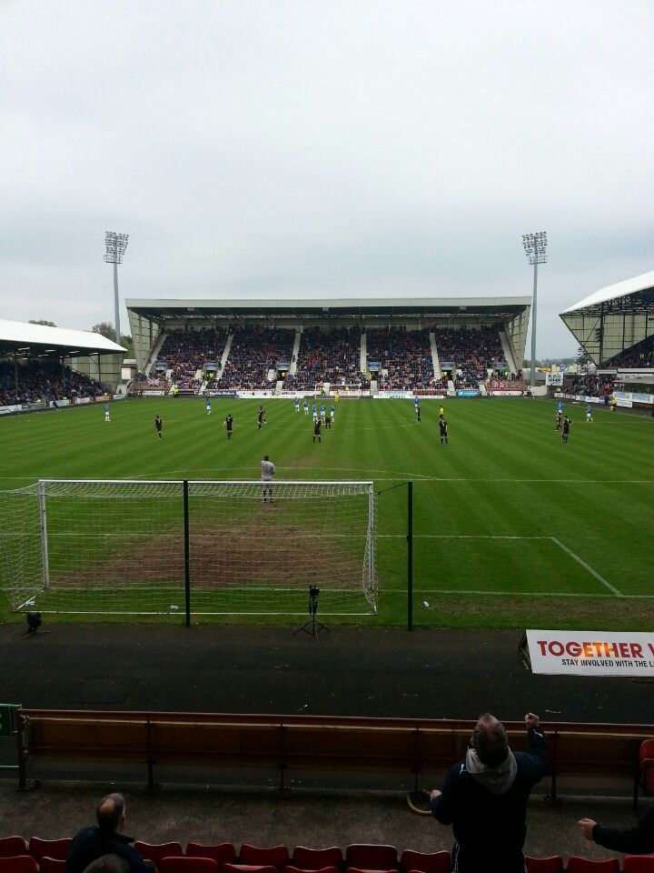 Dunfermline Athletic FC, East End Park in Dunfermline, Fife