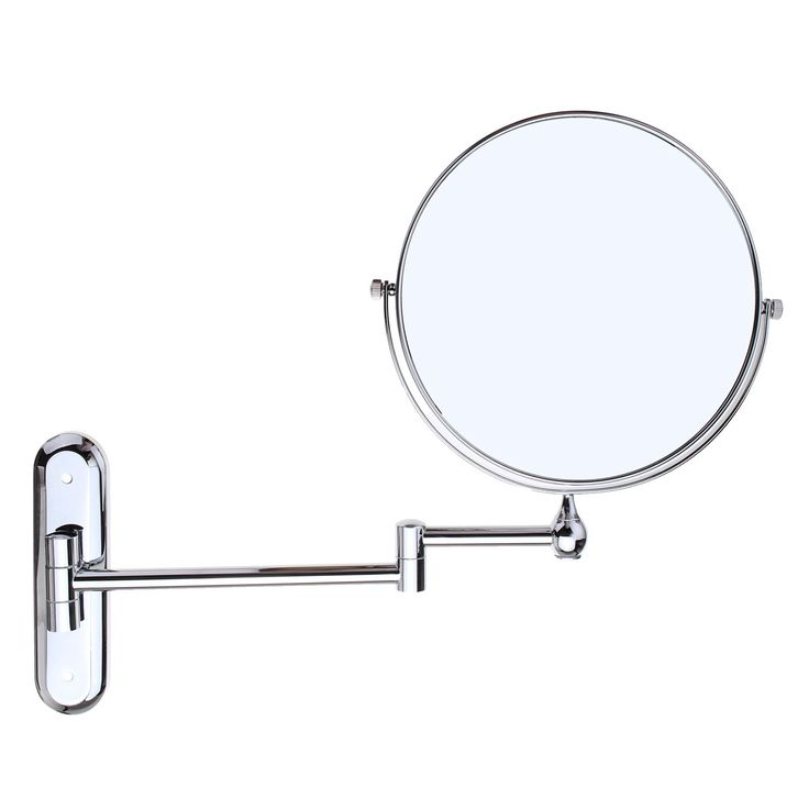 Inspiration Web Design Foldable X Magnifying Mirror Extend Double Sided Wall Mounted Makeup Mirror Toilet Round Vanity
