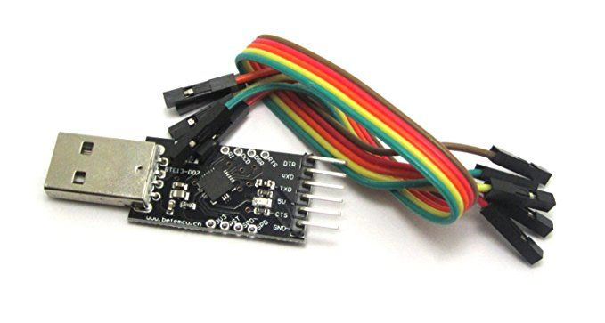 USB 2.0 to TTL UART 6PIN CP2102 Module Serial Converter Cable