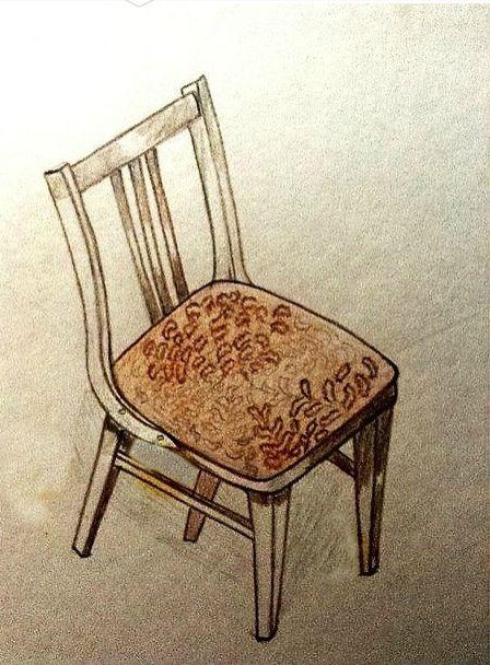"""Рисунок """"Стул"""".  Моя работа, 2007 год."""