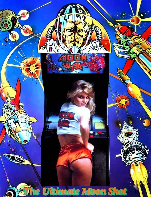 Arcade machines were once marketed to pervy, drooling creeps.
