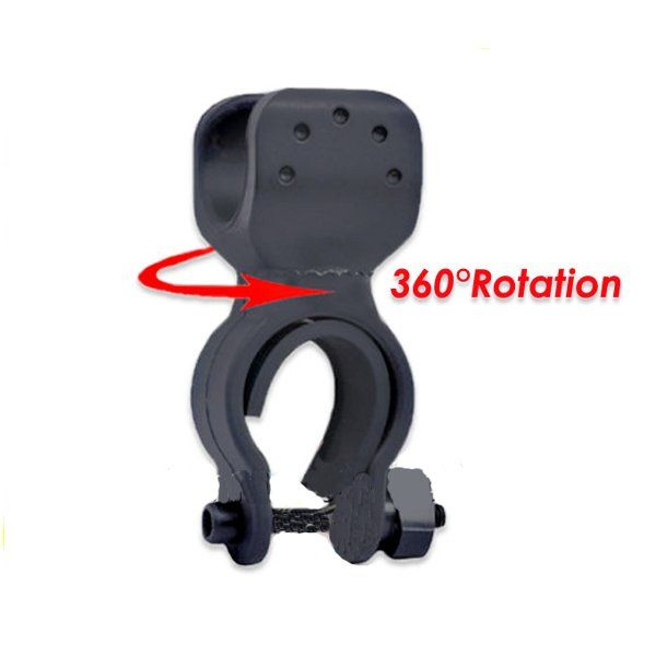 Wholesale Flashlight Mount Holder Clip LED Bicycle Bike Torch 360 - 2$