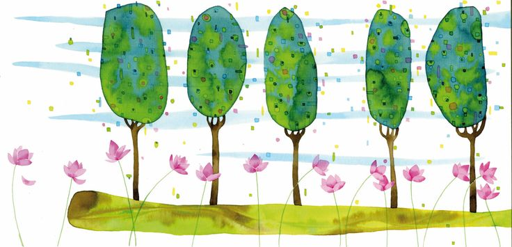 Sotto lo stesso cielo, i pioppi e i fiori di loto