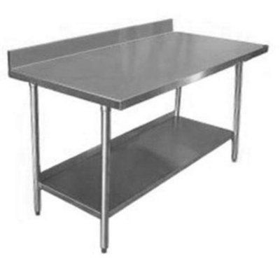 Commercial Work Table In Kitchen