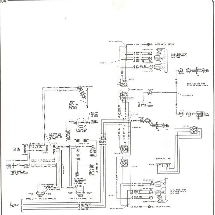 Tolle 67 Chevy Lkw Schaltplan Ideen - Elektrische ...