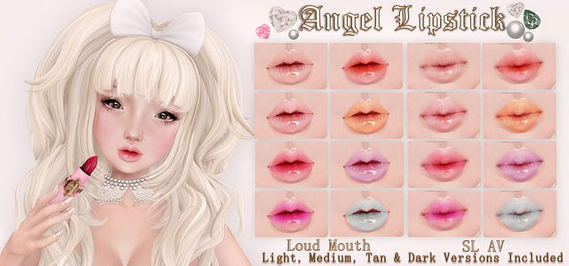 For 24 hours, these lipsticks will be only $100L. Come grab them♥ V.I.P's make sure to wear your tags for store credit. Thank you! http://maps.secondlife.com/secondlife/The%20Emporium/165/122/485