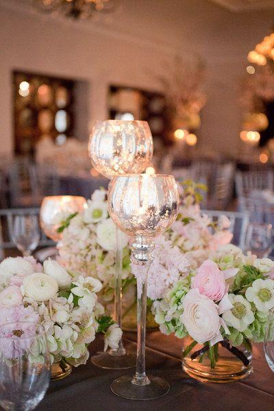 decoration mariage centre de table