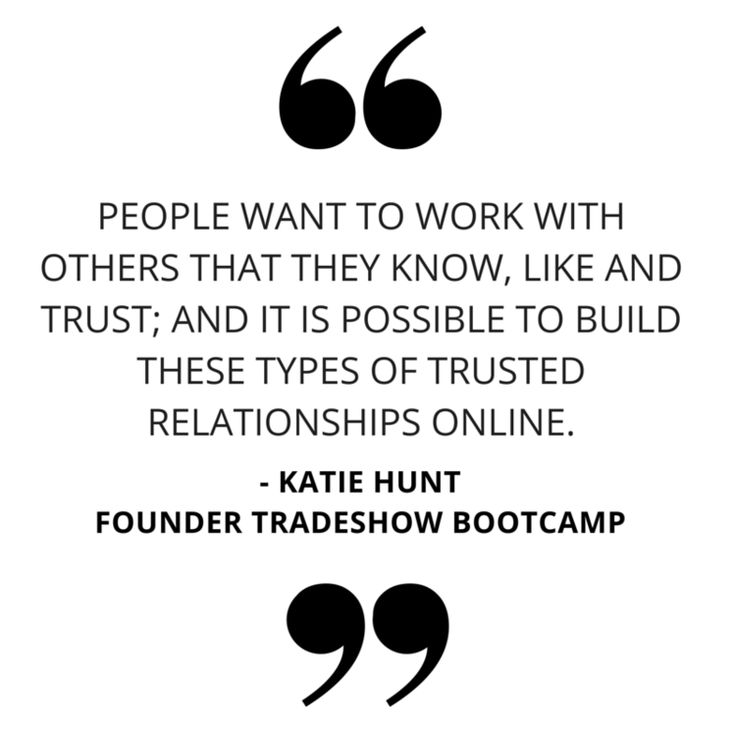 #FAMOUS :: KATIE HUNT OF TRADESHOW BOOTCAMP — Little Farm Media