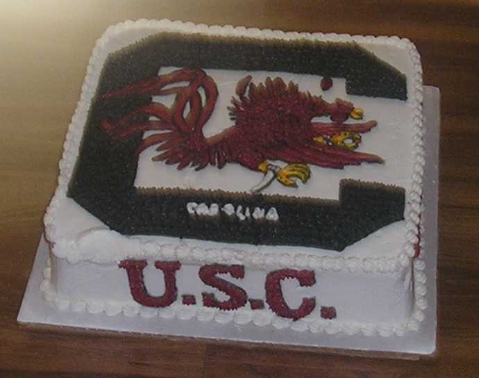 Usc Birthday Cake Images : 17 Best images about South Carolina Gamecocks on Pinterest ...