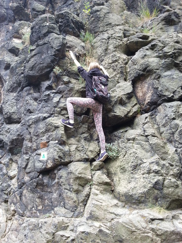 Nebezpečné počínání!! :-D #climbing