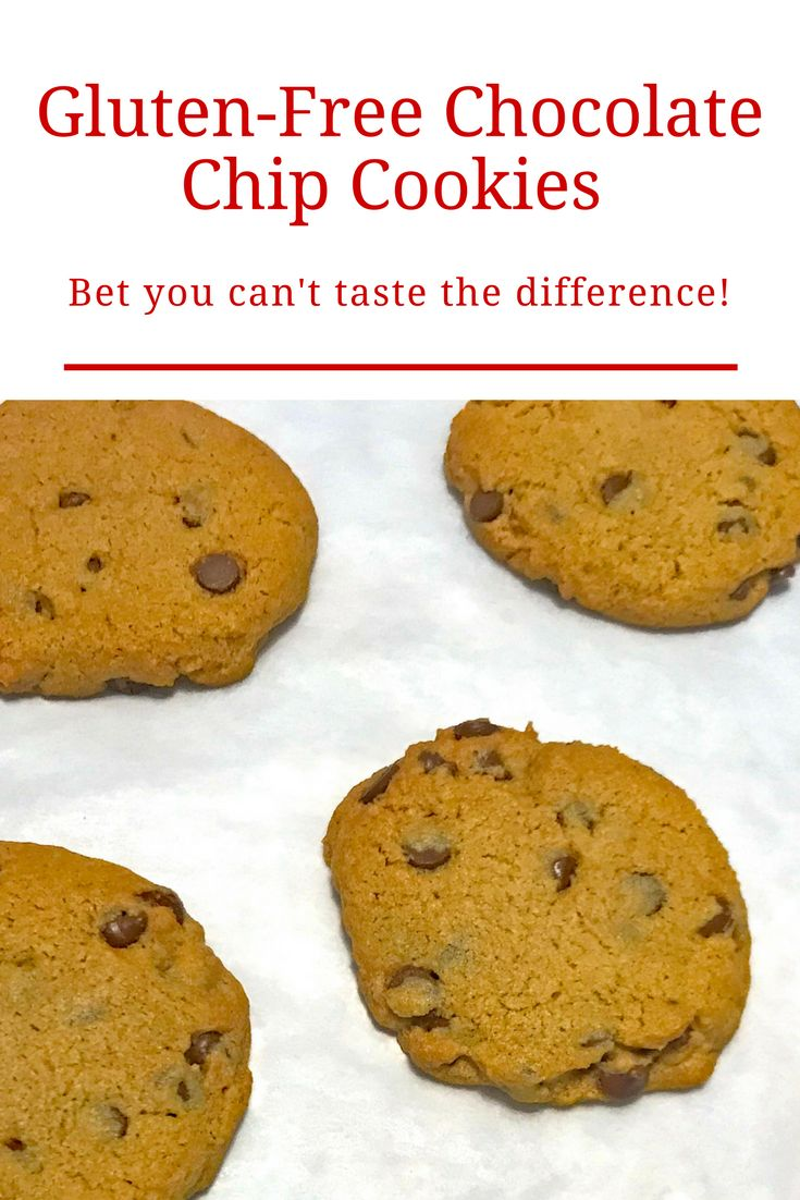 Easy-to-make gluten-free chocolate chip cookies made with sorghum. Bet you can't taste the difference!