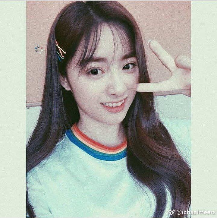 She S Cute Even In Long Hairstyles Long Hair Styles Hair Photo Kpop Hair